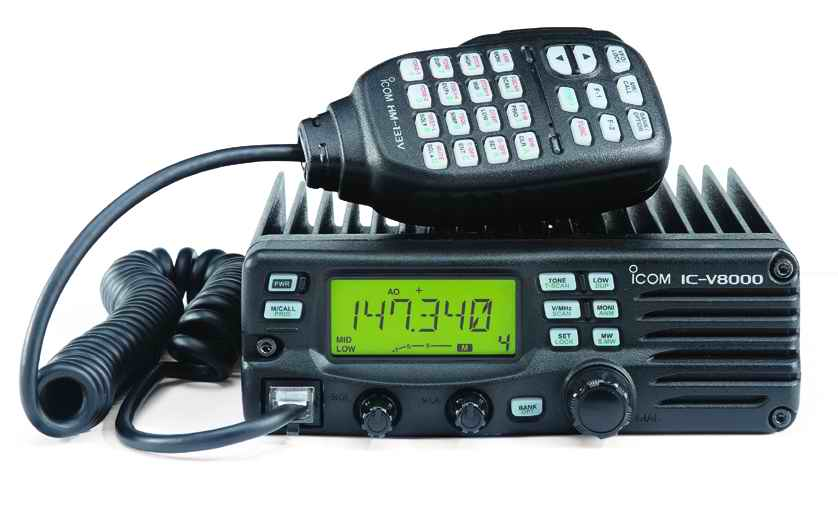 ... receive 2 meter (left). Two-meter rigs are a must-have for amateur radio ...